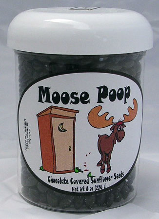 Huckleberry Moose Poop Sunflower Seed Candy